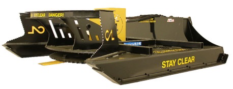 Construction Attachments - Hydraulic Rotary Brush Cutter - 60 Inch - Universal Bracket