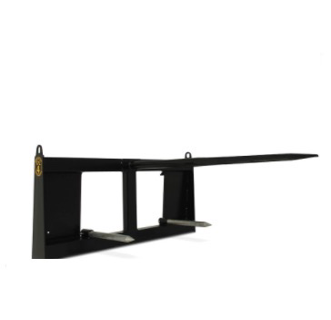 Construction Attachments - Extreme Duty Single Bale Spear - Universal Mount